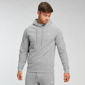 MP Men's Form Pullover Hoodie - Classic Grey Marl