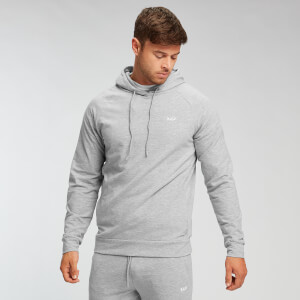 MP Men's Form Pullover Hettegenser – Gråmelert