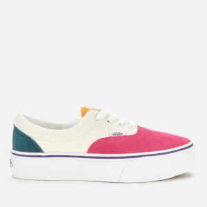 Vans Women's Era Platform Mini Cord Trainers - Multi/True White