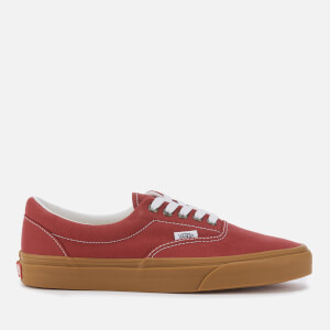 Vans Men's Era Gum Sole Trainers - Rosewood/True White