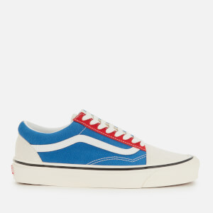 Vans Men's Anaheim Old Skool 36 DX Trainers - OG White/OG Blue/OG Red