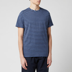 Oliver Spencer Men's Conduit T-Shirt - Navy/Sky Blue