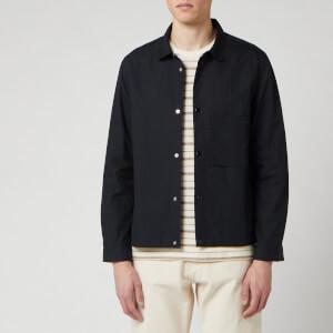 Folk Men's Stack Jacket - Soft Black