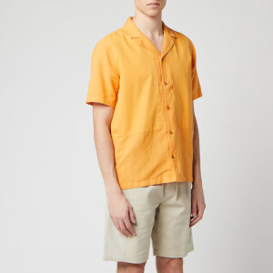 Folk Men's Overlay Shirt - Marigold