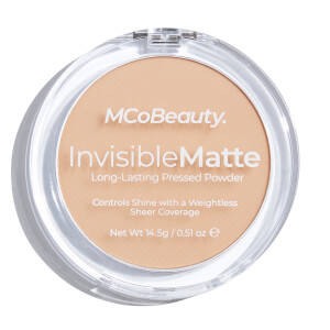 MCoBeauty Invisible Matte Pressed Powder 14.5g (Various Shades)