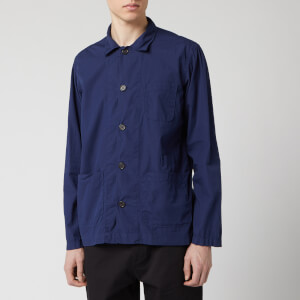 Universal Works Men's Bakers Overshirt - Blueprint