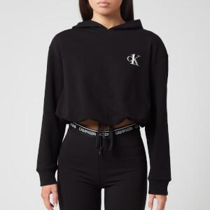 Calvin Klein Women's Long Sleeve Hoody - Black