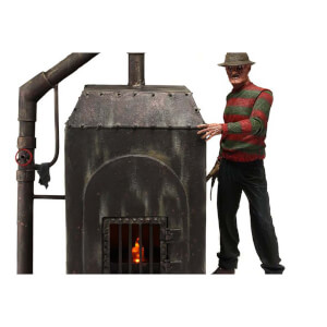 NECA Nightmare on Elm Street - Diorama Element - Freddy's Furnace w/LED