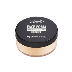 Sleek MakeUP Face Form Baking and Setting Powder - Light