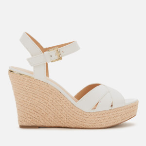 MICHAEL MICHAEL KORS Women's Suzette Wedge Sandals - Optic White