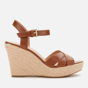 MICHAEL MICHAEL KORS Women's Suzette Wedge Sandals - Luggage