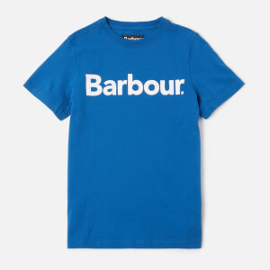 Barbour Boys' Logo T-Shirt - True Blue