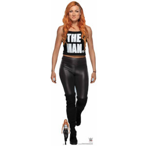 WWE Becky Lynch (The Man ) Standing Lifesized Cardboard Cut Out