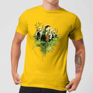 The Lord Of The Rings Hobbits Men's T-Shirt - Yellow