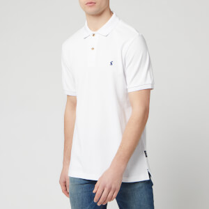 Joules Men's Woody Classic Fit Polo Shirt - White