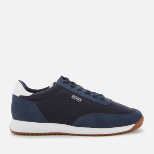 BOSS Hugo Boss Men's Sonic Runn Nylon Running Style Trainers - Dark Blue