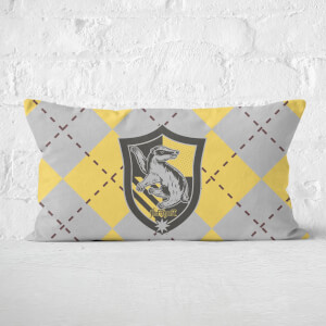 Harry Potter Hufflepuff Rectangular Cushion