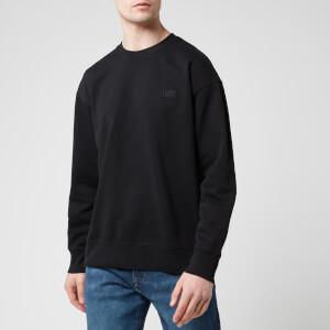 Levi's Men's Authentic Logo Crewneck Sweatshirt - Mineral Black