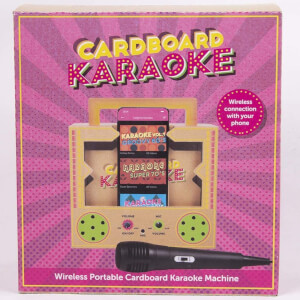 Cardboard Karaoke