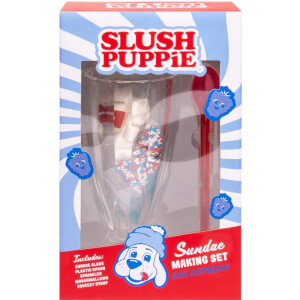 Slush Puppie Blue Raspberry Sundae Set
