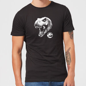 Jurassic Park T Rex Men's T-Shirt - Black