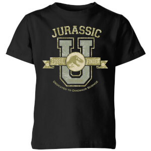Jurassic Park Fossil Finder Kids' T-Shirt - Black