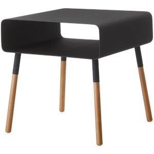 Yamazaki Plain Low Side Table - Black