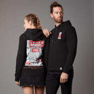 Sudadera capucha Marvel The Avengers Issue 1 - Unisex - Negro
