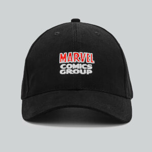Casquette Marvel Comics Curved Peak - Noir
