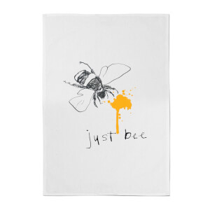 Poet and Painter Just Bee Cotton Tea Towel