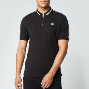 HUGO Men's Dolmar203 Polo Shirt - Black