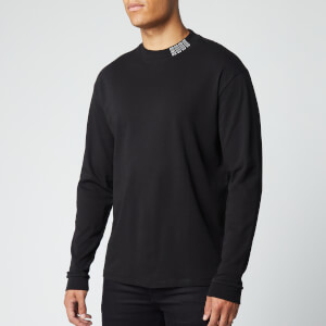 HUGO Men's Dotch Long Sleeve T-Shirt - Black