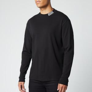 HUGO Men's Dotch Long Sleeve T-Shirt - Black