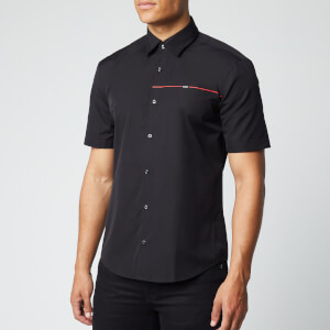 HUGO Men's Ermino Shirt - Black
