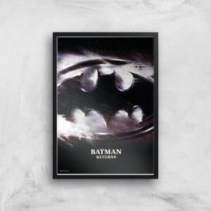 Batman Returns Giclee Art Print
