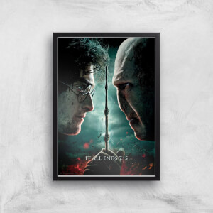 Harry Potter and the Deathly Hallows Part 2 Giclee Art Print