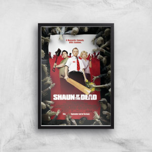 Shaun Of The Dead Giclee Art Print