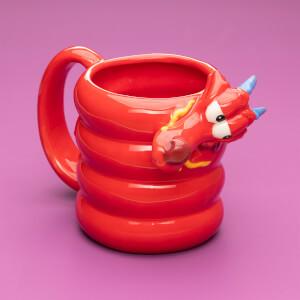 Mulan Mushu Shaped Mug
