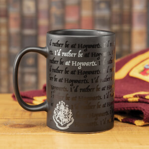 I Would Rather Be At Hogwarts Mug