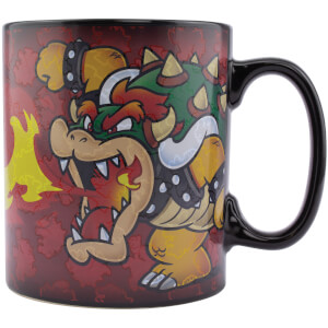 Super Mario Bowser XL Heat Change Mug