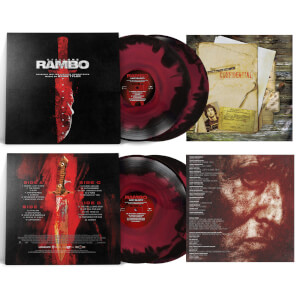 Rambo Last Blood Original Motion Picture Soundtrack - Zavvi Exclusive 2 x Colour LP