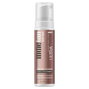 MineTan Ultra Dark Self Tanning Mousse 200ml