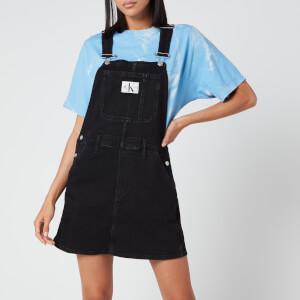Calvin Klein Jeans Women's Overall Dress - Washed Black