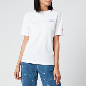 Tommy Jeans Women's Summer Repeat Back T-Shirt - White
