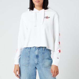 Tommy Jeans Women's Modern Logo Hoody - White