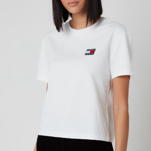 Tommy Jeans Women's Tommy Badge T-Shirt - White