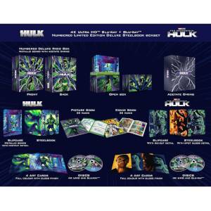 The Universal Hulk Collection - Zavvi Exclusive 4K Ultra HD Steelbook Box Set