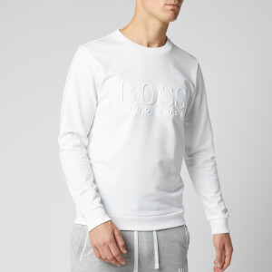 BOSS Men's Heritage Sweatshirt - White