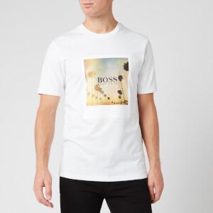 BOSS Men's Summer 4 T-Shirt - White