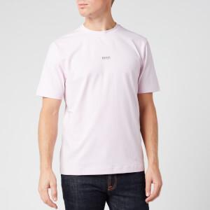 BOSS Men's TChup T-Shirt - Dark Pink
